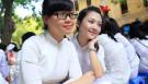 3 nữ sinh lớp 11D7 trường PTTH Phan Đình Phùng vừa học giỏi, vừa xinh như hot girl.